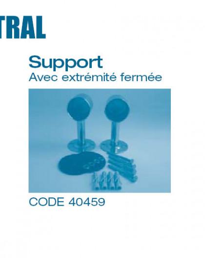 Echelle - Support avec extrémité fermée