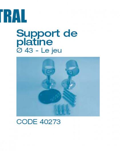 Echelle - Support de Platine