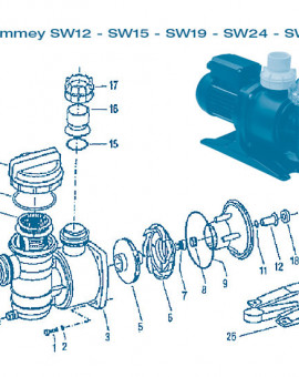 Pompe Swimmey - Num 5 - Turbine de SW28