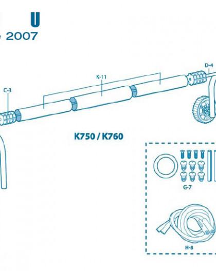 Pour Enrouleur Modèle U à partir 2007 - Num A-1 - Volant complet