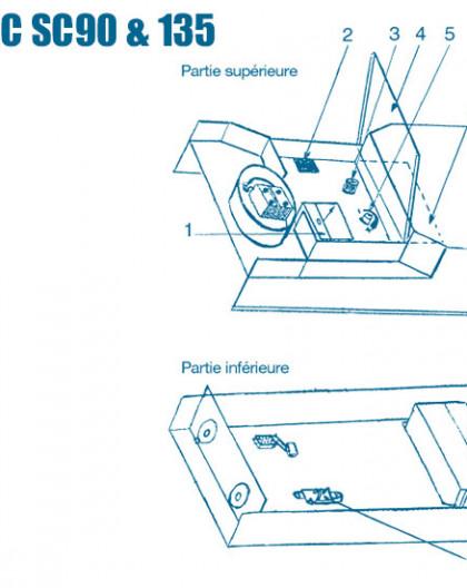 Electrolyseur Euromatic SC90 et SC135 - Num 1 - Ampèremètre
