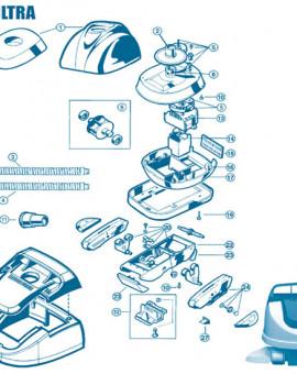 Pool Vac Ultra - Num 8 - Garniture engrenage conique