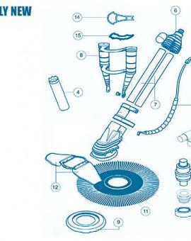 Kreepy Krauly New - Num 5 - Contrepoids de tuyaux