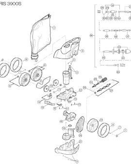 Soupape de sécurité pour Polaris 3900S, sur image Num 32