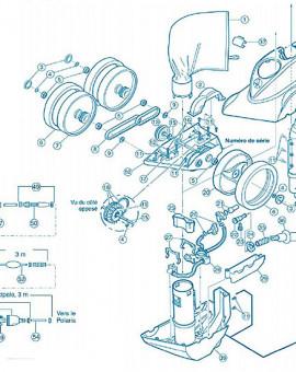 Polaris 380 - Num 4 - Clip de roue inox