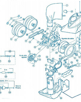 Polaris 380 - Num 12 - Bloc essieu