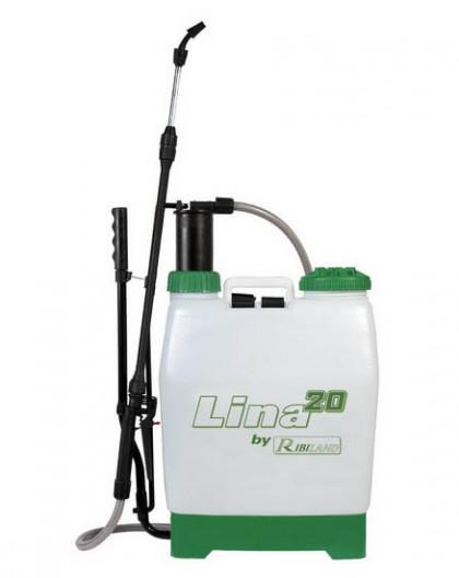 Pulvérisateur 20L à dos à pression entretenue LINA20 usage professionnel