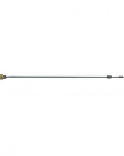 Lance télescopique aluminium 2m30 avec buse double superposée Num 5