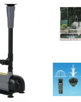 Pompe fontaine avec 4 jets différents 50W