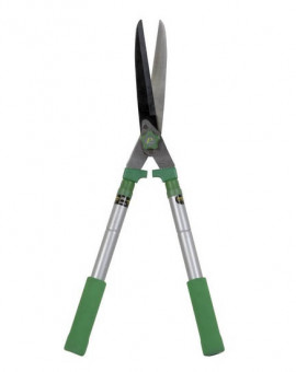 Cisaille à haies télescopique 64cm à 82cm lame droite au teflon