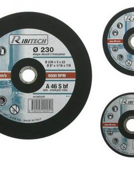Disque à Tronconner Inox, Diamètre 115 mm, Plat