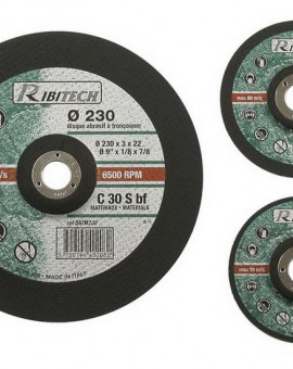 Disque à Tronconner Matériaux, Diamètre 115 mm, Centre Déporté
