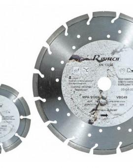 Disque Diamanté Segmenté Laser Ø 230 pour Acier et Matériaux