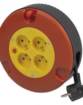Enrouleur Cable Electrique 5m / 3x1