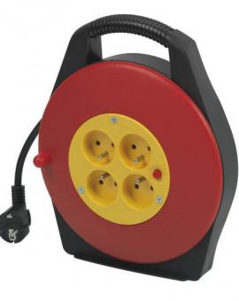 Enrouleur Cable Electrique 10m / 3x1