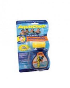Testeur Aquachek Orange 50 bandelettes (Oxygène actif - pH - TAC)
