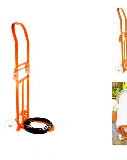 Chariot de transport de jardinière pour garden palet