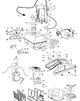 Porte clip 7/16'' plastique pour TURBO BOT, sur image Num 12