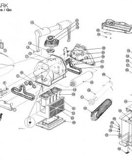 Boitier d'alimentation QC 240V pour TIGER SHARK, sur image Num 1 QC