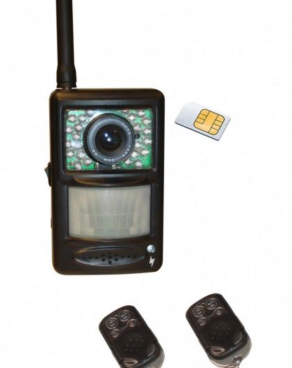 Kit De Video Surveillance Nomade Pour Gsm