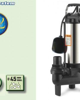 Pompe immergée VORTEX 1500W Pompe de relevage des eaux chargées