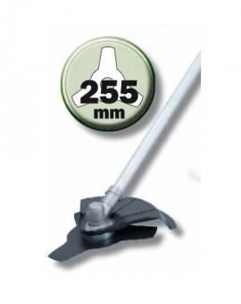 Lame débroussailleuse diam. 255mm 3 dents