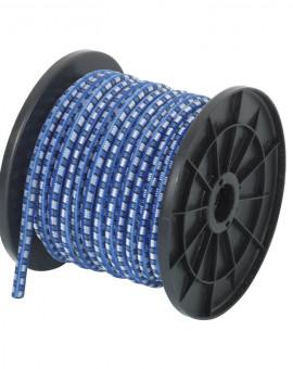 Câble élastique en bobine diam 8mm longueur 20m