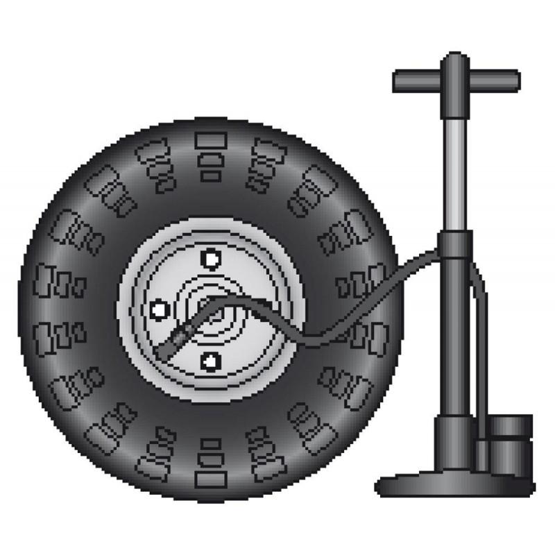 chambre air de rechange pour roue de brouette 380 mm tout pour la maison
