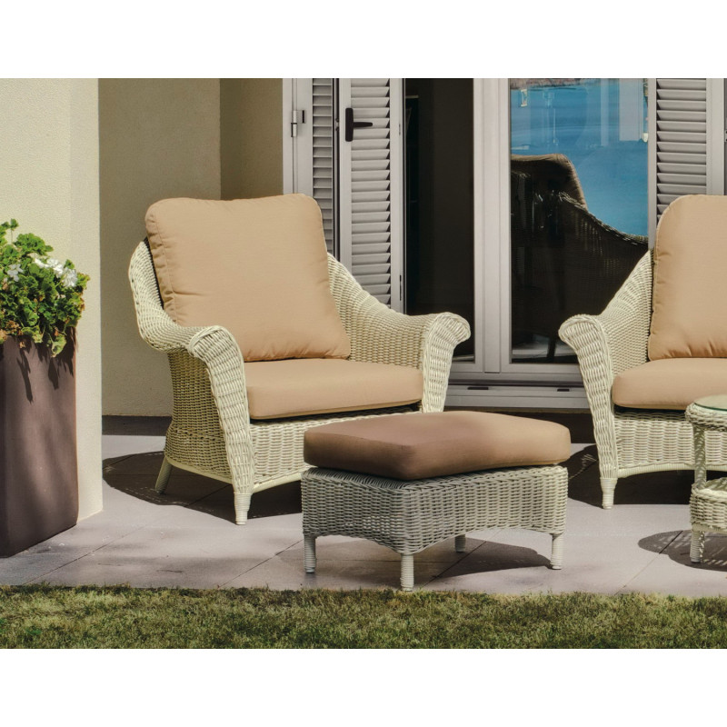 salon de jardin marquise 5 places r sine tress e hevea mobilier de jardin. Black Bedroom Furniture Sets. Home Design Ideas